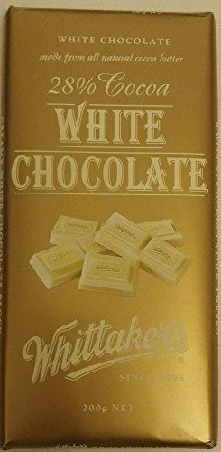 Whittakers Chocolate Block 200g Made In New Zealand