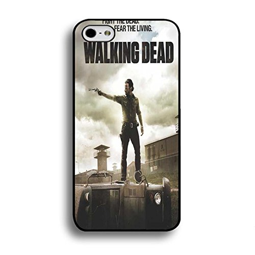 Iphone 6 / 6s ( 4.7 Inch ) Cover Shell Stylish Cool Rick Grimes Horror Zombies TV The Walking Dead Phone Case Cover Hipster Weird