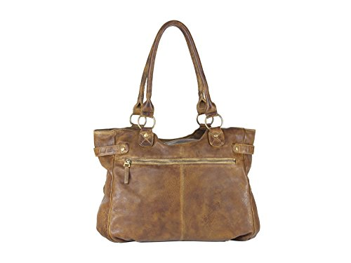 Greenland Soft Bags Handtasche Leder 42 cm
