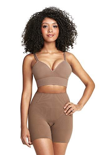 Shorts modelador skin, Plié, Feminino, Cacau, P