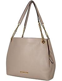 Women's Jet Set Item Large Shoulder Tote Leather Handbag