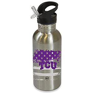 Texas Christian University Horned Frogs TCU Operation Hat Trick OHT Water Bottle