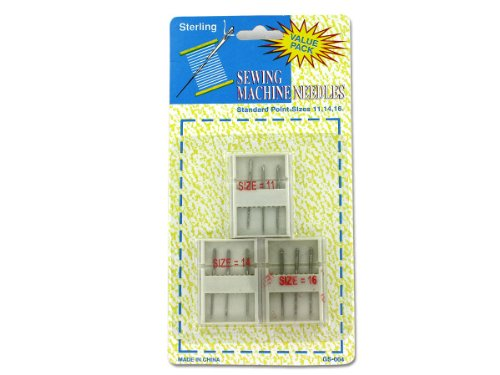 144 Packs of Sewing machine needles with cases