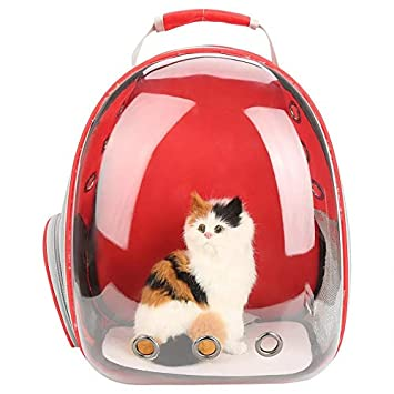 Space Capsule Travel Bag For Small Dogs Cat Carrier Dog Carrying Breathable Shoulder Backpack Outdoor Portable Bag Pet Products Dog Carriers