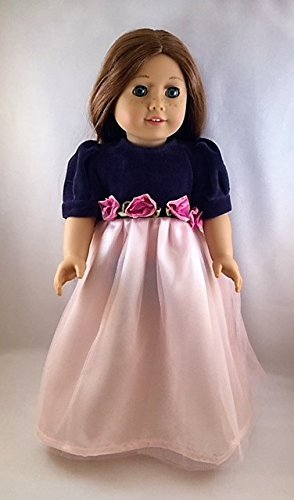"Black Elegance by Carpatina Fits 18/"" American Girl  Dolls"