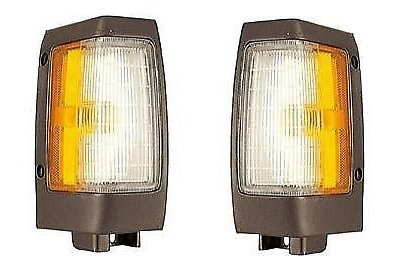 Oem Nissan Hardbody Truck (Driver and Passenger Park Signal Marker Light Lamp Replacement for Nissan Pickup Truck B611501G02 B611001G02)