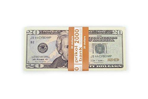 Prop Money, (80) 20 Dollar, Pranks, Bills -