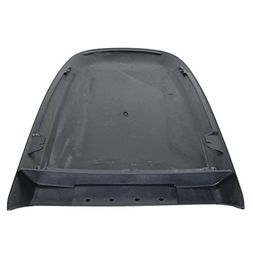 Universal Fitment Fit ABS Air Flow Hood Vent Scoop Bonnet Cover V4 Style length 27'' width 16.5'' height 2'' by IKON MOTORSPORTS by IKON MOTORSPORTS (Image #6)