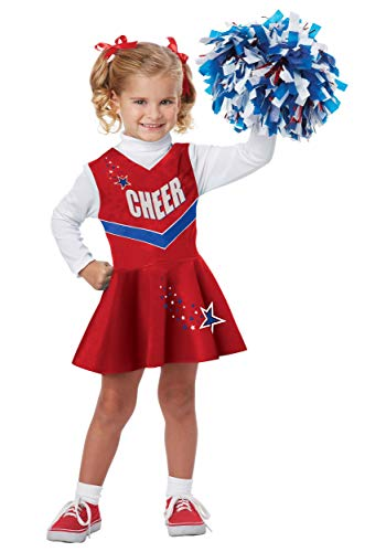 California Costumes Classic Cheerleader Costume, One Color, 3-4]()