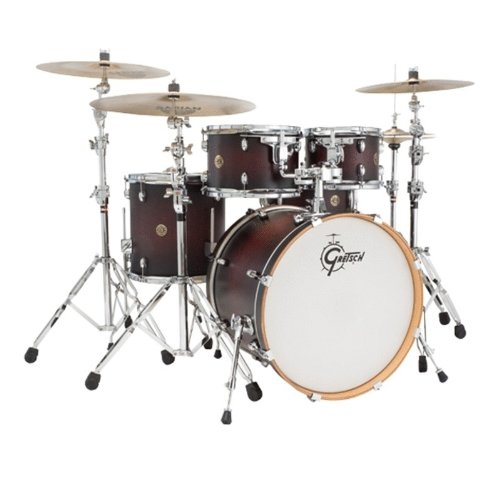 - Gretsch Drums Catalina Maple CM1-E605-SDCB 5-Piece Drum Shell Pack, Satin Deep Cherry Burst