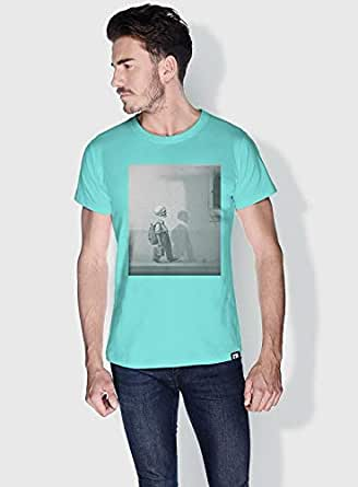 Creo Kid Skulls T-Shirts For Men - L, Green