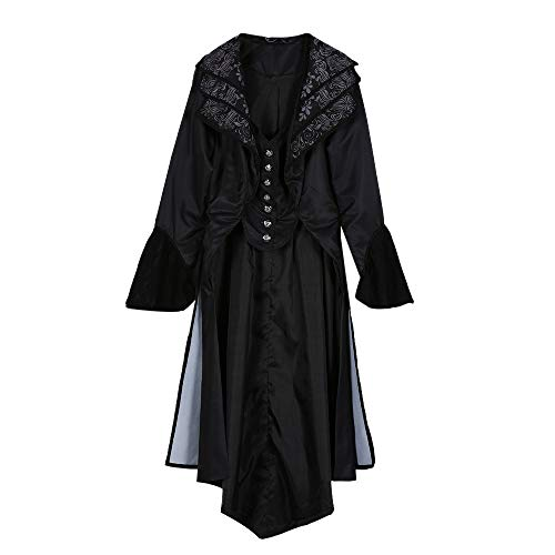 Used, Women Steampunk Gothic Long Velvet Medieval Jacket for sale  Delivered anywhere in USA