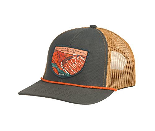 a9f909fd9404cc Sendero Provisions Co. Black Canyon of The Gunnison National Park Hat,  Olivewood/Cedar