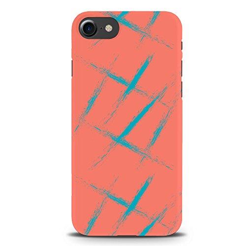 Koveru Back Cover Case for Apple iPhone 7 - Pinkish Grunge