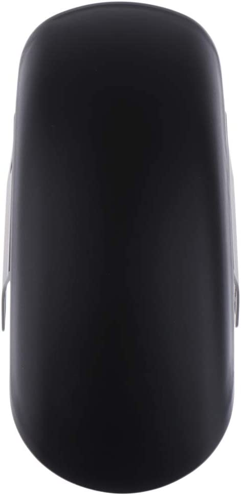 H HILABEE Guardabarros De Guardabarros Delantero Corto De Moto De Acero Inoxidable para GN125 Mash 125 - Negro