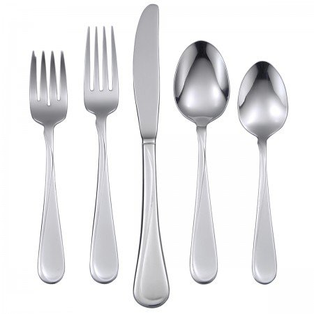 Oneida Flight 65-Piece Flatware Sets, Service for 12 (H015065A)