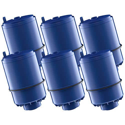 AQUACREST RF-9999 Water Filter, Compatible with Pur RF-9999 Faucet Replacement Water Filter (Pack of 6) (Water Faucet Pur Filters)