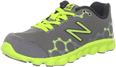 New Balance K3090 Running NB IONIX Running Shoe (Little Kid/Big Kid),Grey/Green,3.5 W US Big Kid