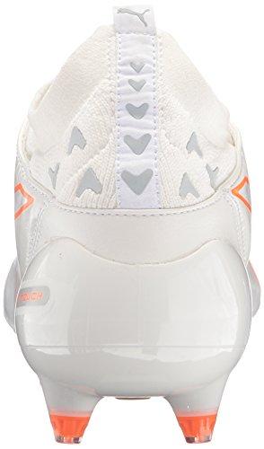 Puma Mens evoTOUCH Pro FG Soccer Shoe Puma White/Puma White