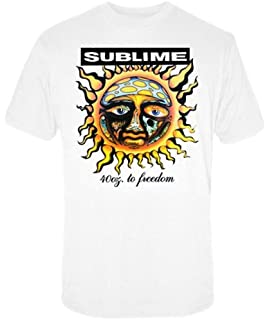f97a8b3bc FEA Men's Sublime 40 Oz to Freedom Blue Tie Dye T-Shirt: Amazon.co ...