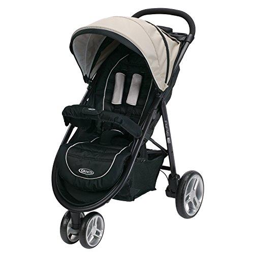 Graco Aire3 Stroller Lightweight Baby Stroller, Pierce