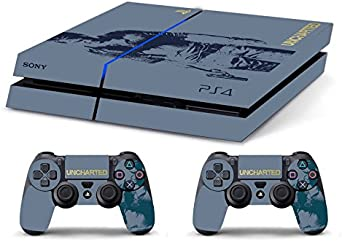 Skin PS4 HD Uncharted - limited edition DECAL COVER ADHESIVO playstation 4 SONY BUNDLE: Amazon.es: Videojuegos