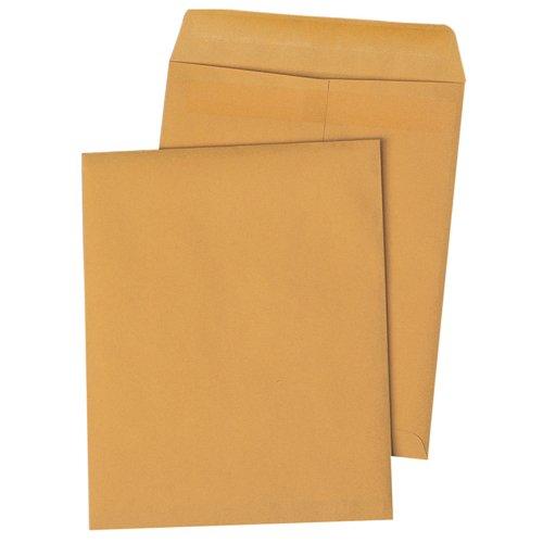 Quality Park Redi-Seal Catalog Envelopes, 12 x 15.5 Inches, Kraft, 100 per Box (44067)