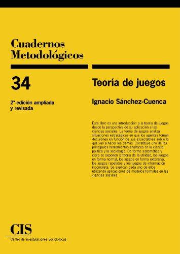 Teoria de juegos (Spanish Edition) [Ignacio Sanchez-Cuenca] (Tapa Blanda)