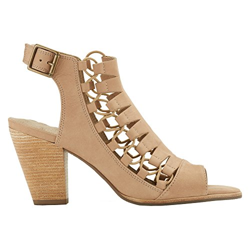 Giza Sandal Taupe Heel Cradles High Women's Walking 7wqEOqF