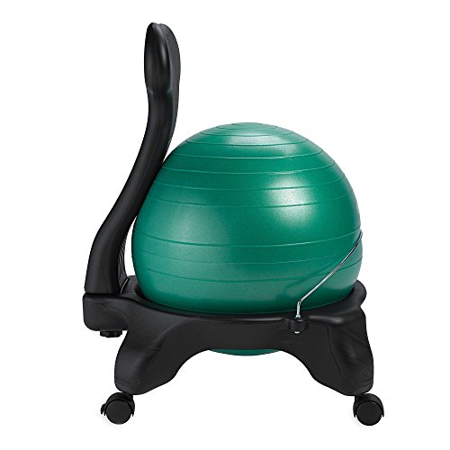 Gaiam Balance Ball Chair, Green