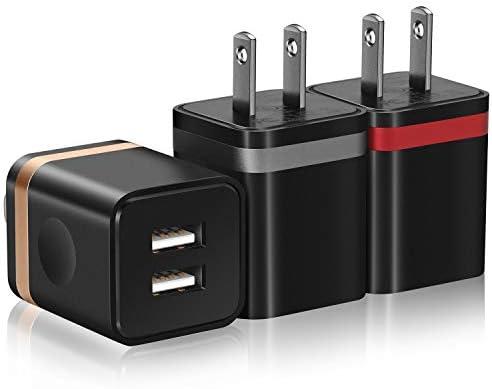 Amazon.com: STELECH Cargador de pared USB (listado UL ...