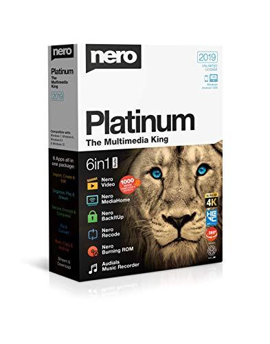 Nero Platinum 2019 Box|Platinum|1|One time|PC|Disc