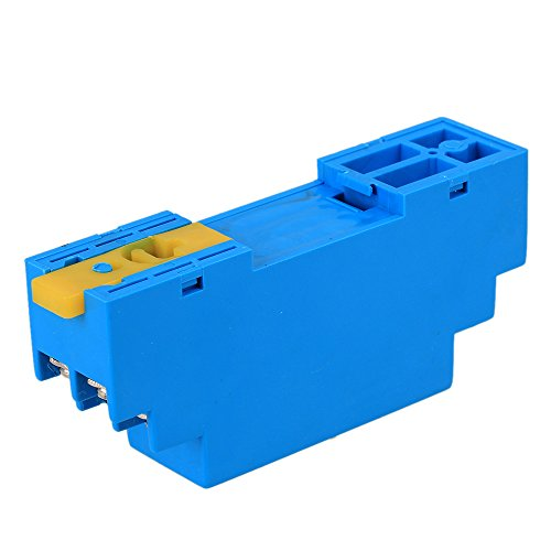 0-5V 24V DC RTD PT100 Temperature Sensors Transmitter Blue - 5
