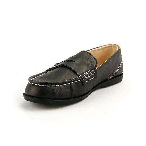 - The Doll Maker The Little Captain Boy's Loafer Shoes - FBA1511112C-11 Black