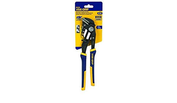 IRWIN Tools 4935097 VISE-GRIP GrooveLock Pliers Smooth Jaw 10-inch GV10S
