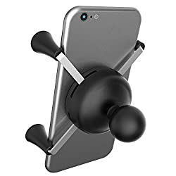Ram Mount Cradle Holder For Universal X-grip Cellphoneiphone With 1-inch Ball - Non-retail Packaging - Black