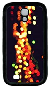 Cool Painting Lights PC Silicone Case Cover for Samsung Galaxy S4/I9500