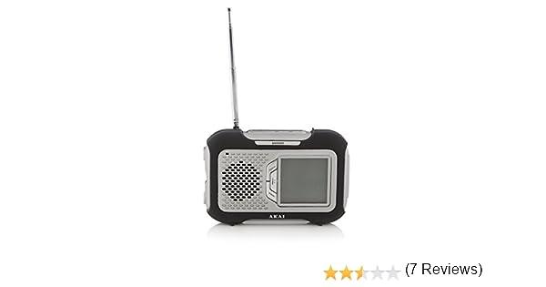 Radio Digital Am/FM Pantalla LCD con memorias, Alarma, Sleep y ...