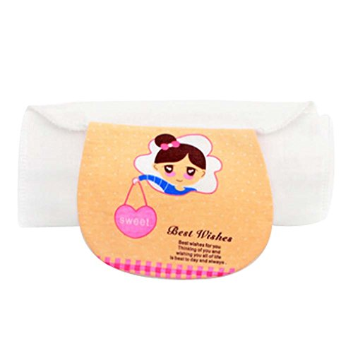 2 PCS Baby Towels for Sweat Absorbent with Pretty Girl Pattern, M