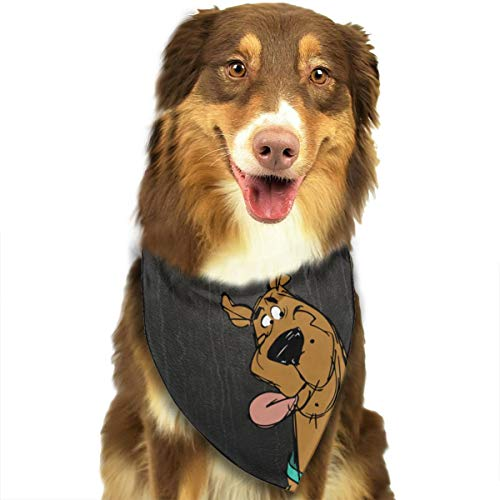 OURFASHION Scooby Doo Stitched Bandana Triangle Bibs Scarfs Accessories for Pet Cats and Puppies