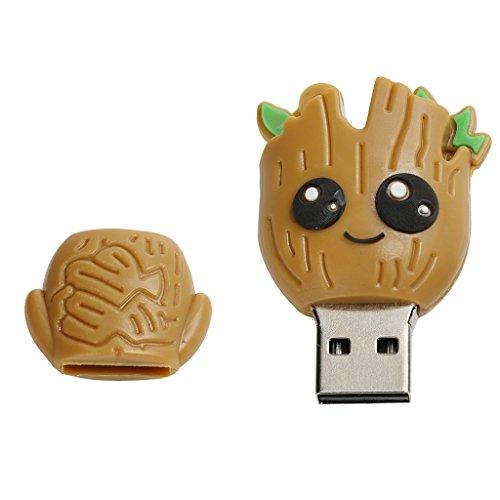 Jili Online Cute Cartoon Universal USB Flash Stick Drive Storage U Disk for Computer Desktop 64GB