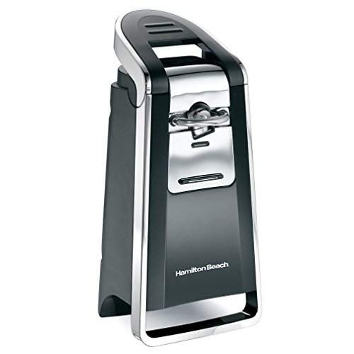 Hamilton Beach 76606ZA Smooth Touch Can Opener Black and Chr