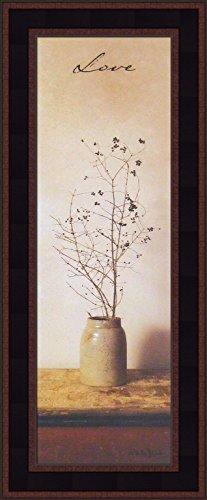9x21 Primitive Photography Antique Jug Crock Folk Art Inspirational Décor Framed Print Picture ()