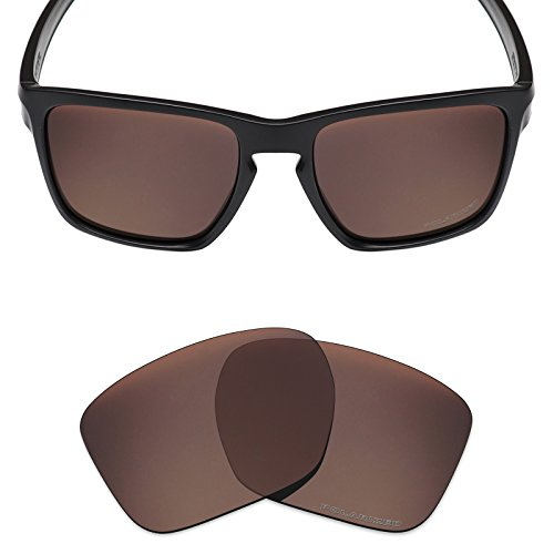 Mryok+ Polarized Replacement Lenses for Oakley Sliver XL - Bronze Brown by Mryok