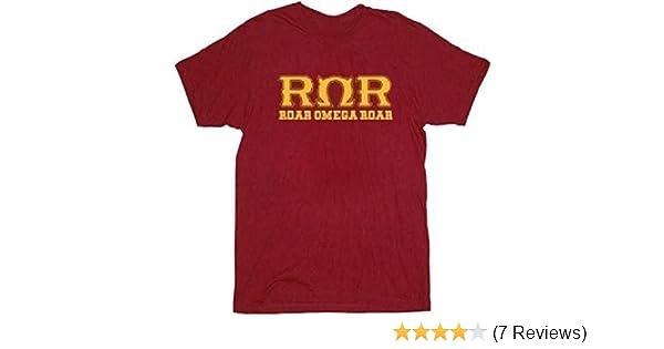 Amazon.com: Monsters University Roar Omega Roar Maroon Adult T-Shirt: Clothing