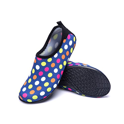 Aqua red Sports for Dd Women's LeKuni Gym Beach Men's Water Shoes Pool Quick Shoes Barefoot Drying Swimming Yoga wBTq0