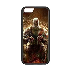 iPhone 6 Plus 5.5 Inch phone case Black god of war GHHL6531090