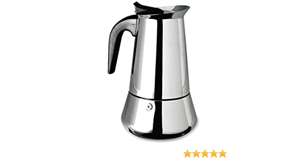 Supreminox Cafetera inducción, para 2 Tazas, Centimeters: Amazon.es: Hogar