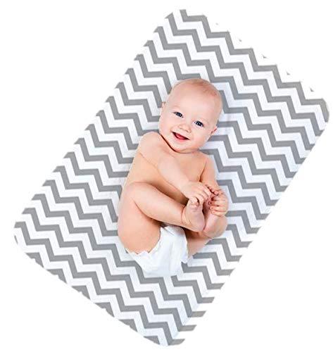 Waterproof Baby Diaper Changing Mat: Lessy Messy Large 20 x 30 Inch Change Mats