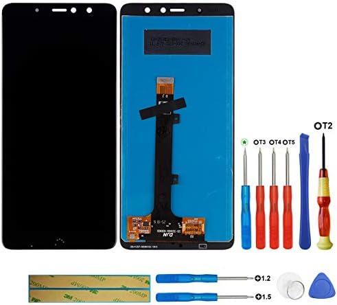 Swark Pantalla LCD Compatible con Bq Aquaris X2/X2 Pro Negro (sin ...